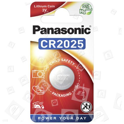 Pile Bouton Lithium CR2025 Panasonic
