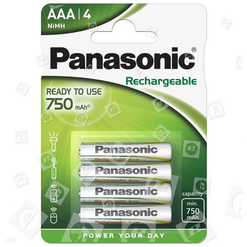 Piles Rechargeables Evolta LR3 NiMH (Blister De 4) Panasonic