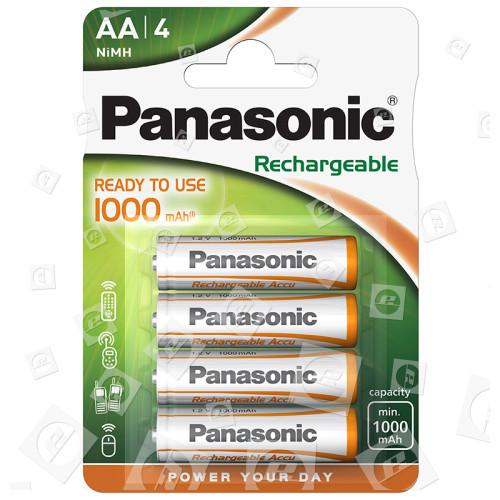 Piles Rechargeables LR6 AA Panasonic