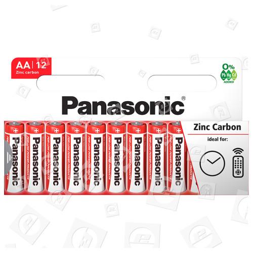Piles LR6 Zinc Carbone (Boîte De 10) Panasonic