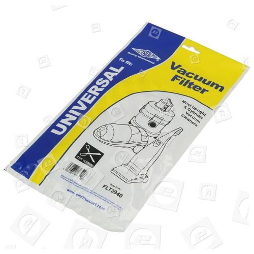 Universal Mikrofilter Für Staubsauger; Zuschneidbar
