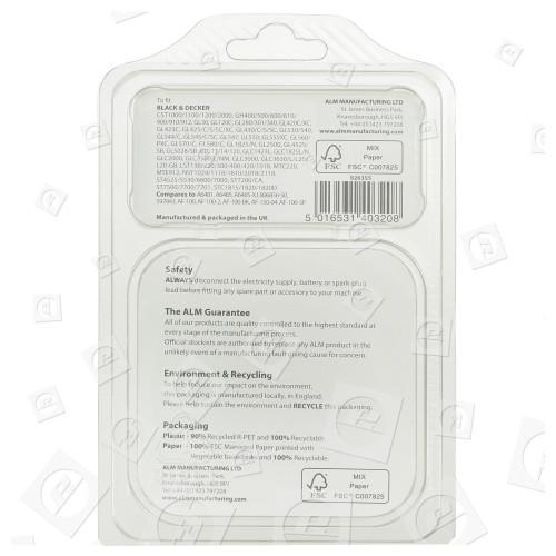 Bobine Et Fil Pour Coupe-Bordure Compatible Avec Black & Decker