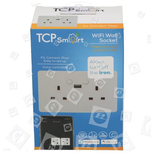 TCP TCP Smart WLAN Doppel Wand - Zwischensteckdose