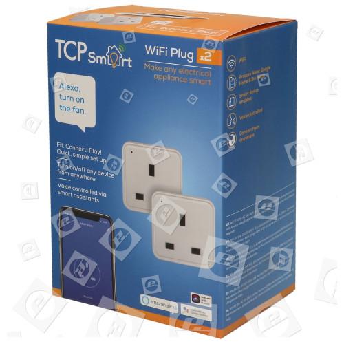 TCP TCP Smart WLAN Einzel Zwischensteckdose - Doppelpack