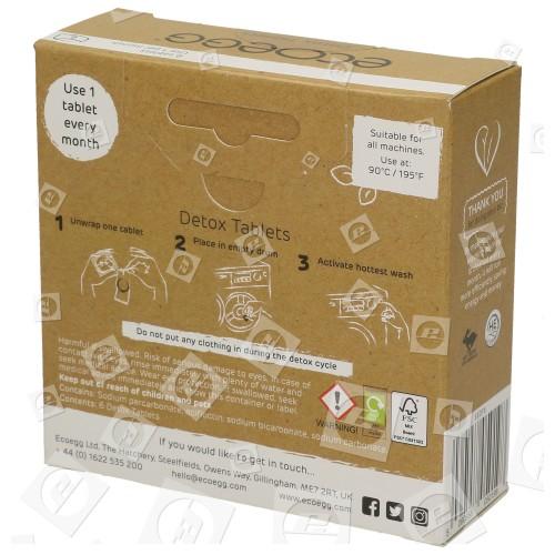 Pastillas De Limpieza De Lavadora - Pack De 6 Ecoegg