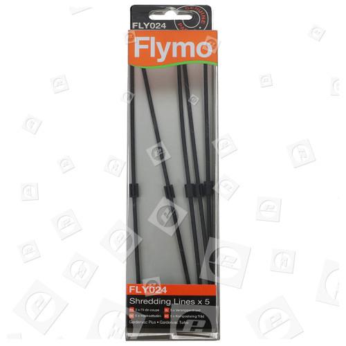 Ligne De Broyage D'aspirateur De Jardin FLY024 - Paquet De 5 - Flymo