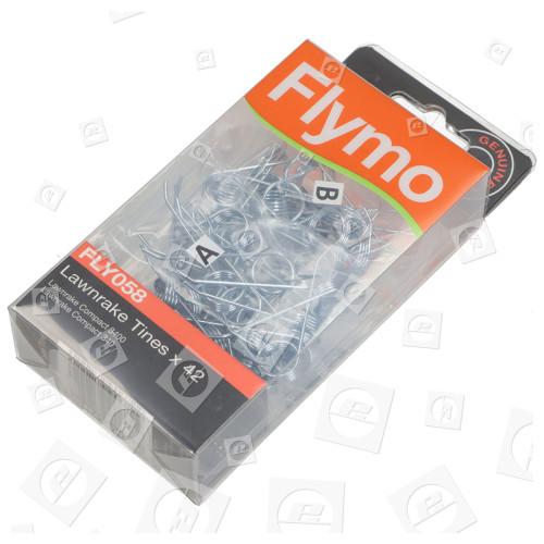 Dents Pour Scarificateur Démousseur FLY058 - Paquet De 42 Flymo