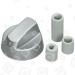 Alternatives eErsatzteil Universal Multifit Herdschalter Silber