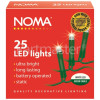 Noma 25 LED White Static Light Chain