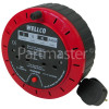 Wellco 5m 2-Socket Extension Cable Reel - UK Plug