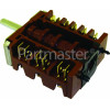 Stoves Function Selector Switch - EGO 46.23966.553