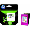 Hewlett Packard Genuine No.301XL Tri-Colour High Capacity Ink Cartridge (CH564EE)