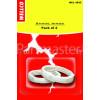 Wellco Premium Replacement Lampholder Shade Rings