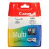 Canon Genuine PG-540/CL-541 Dualpack Black & Colour Ink Cartridges - 5225B006AA