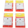 Wellco 20A Double Pole Switch With Neon (Box Of 4)