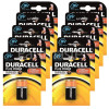 Duracell Plus 9V Alkaline Battery (Pack Of 10)