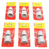 """Wellco BC 1/2"""" Screw Entry Switched Heat Resistant Lampholder (Box Of 6)"""