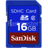 Sandisk SDHC Memory Card 16GB