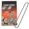 "Black & Decker 40cm (16"") 56 Drive Link Replacement Chrome Chain"