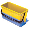 Numatic AK9 - Extra Front Tray Blue, With 15-litre Bucket, Yellow