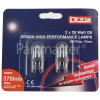 Lyvia 28W G9 Clear Xenon Lamp (Pack Of 2)