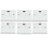 Wellco 20A Double Pole Switch With Neon
