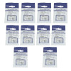 4mm Flat Cable Clips (Box Of 10)