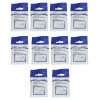 4mm Round Cable Clips (Box Of 10)