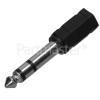 6.3mm Stereo Jack Plug To 3.5mm Stereo Jack Socket