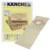 Karcher FP222 Paper Filter Bags - Pack Of 3