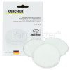 Karcher Waxed Parquet Polishing Pads - Pack Of 3