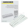 Karcher WV60 Microfibre Cleaning Cloth (Pack Of 2)