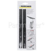 Karcher WV60 Pull Off Lip - 280mm (Pack Of 2)