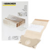 Karcher Paper Filter Bags & Micro Filter - Pack Of 5