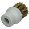 Morphy Richards Round Brass Bristle Brush - Pack Of 2