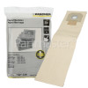 Karcher Filter Dust Bag (Pack Of 5)