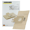 Karcher Paper Dust Bags & Micro Filter (Pack Of 5)