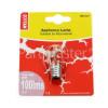Wellco 20W SES (E17) Long Appliance Lamp