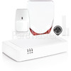 Honeywell Evohome Wireless Smart Home Alarm Kit With Siren