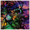 The Christmas Workshop 100 LED Multi-Colour Fairy Chaser Lights - UK Plug