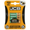 JCB AAA NiMH Rechargeable Batteries (Ready To Use)