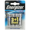 Energizer Ultimate Lithium AA Battery - Pack Of 3 & 1 Free