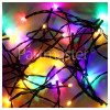 The Christmas Workshop 300 LED Multi-Colour Chaser Lights Set - UK Plug