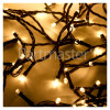 The Christmas Workshop 100 LED Warm White Timer Lights - Battery Powered