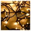 The Christmas Workshop 200 LED Warm White Chaser Lights Set - UK Plug