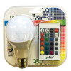 LyvEco 9W BC/B22 A60 (GLS) LED Colour Changing Lamp With Remote