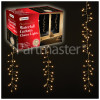 The Christmas Workshop 240 LED Waterfall Curtain Chaser Lights