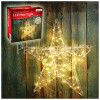 The Christmas Workshop 200 LED 3D Metal Star Light - Warm White