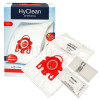 Miele FJM HyClean 3D Efficiency Dust Bag & Filter Pack - Pack Of 4 Bags