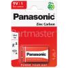 Panasonic 9V Zinc Chloride Battery